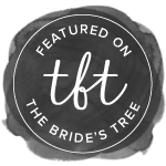 Featured on The Bride's Tree